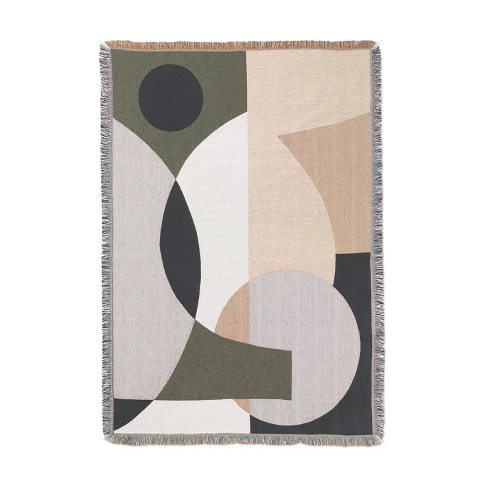 Entire Decke von ferm Living in der Ausführung mehrfarbig