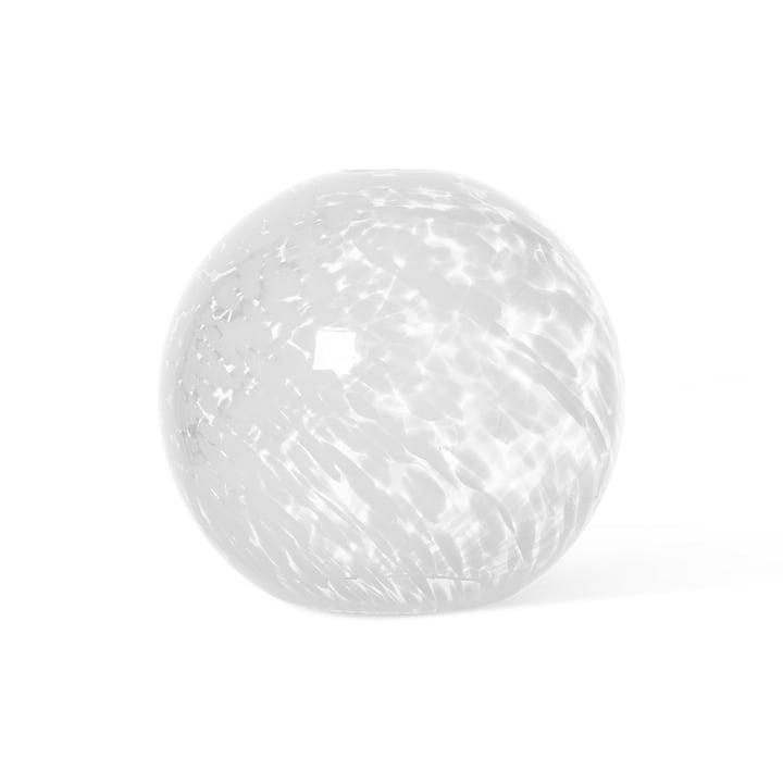Casca Leuchtenschirm von ferm Living in der Ausführung Sphere, milk