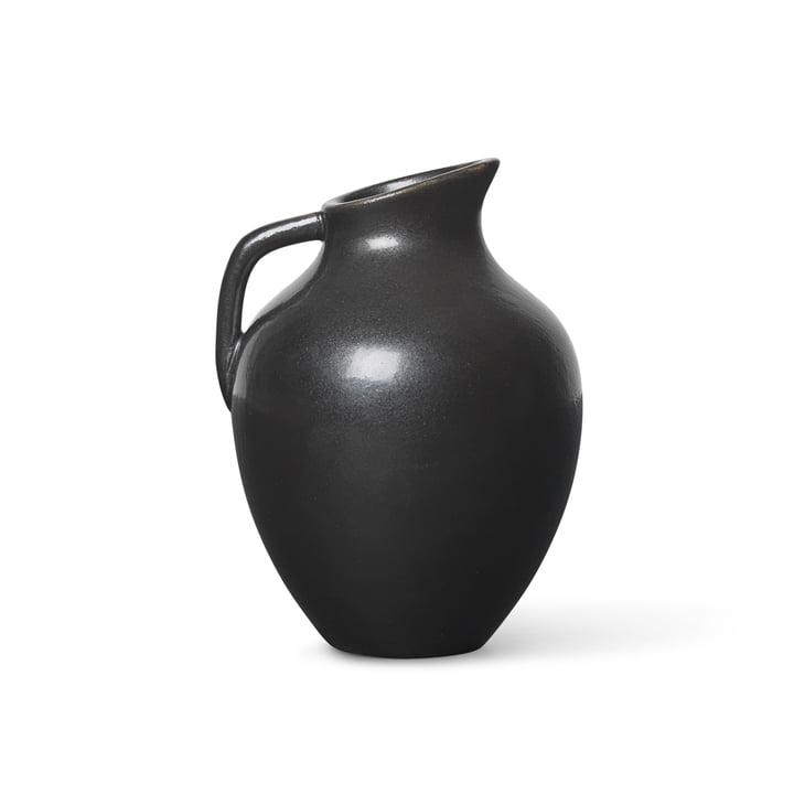 Ary Mini Vase von ferm Living in der Farbe charcoal