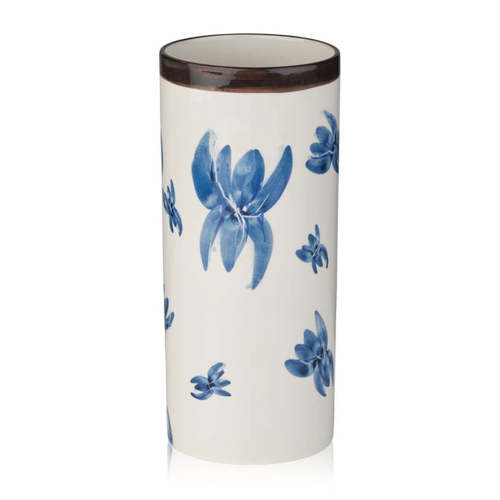 Keramik Vase, H 28 cm von Humdakin