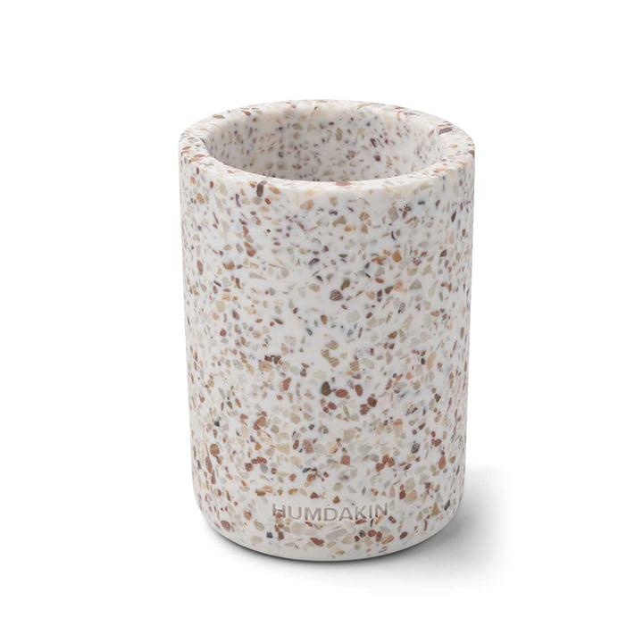 Terrazzo Vase, H 14 cm von Humdakin