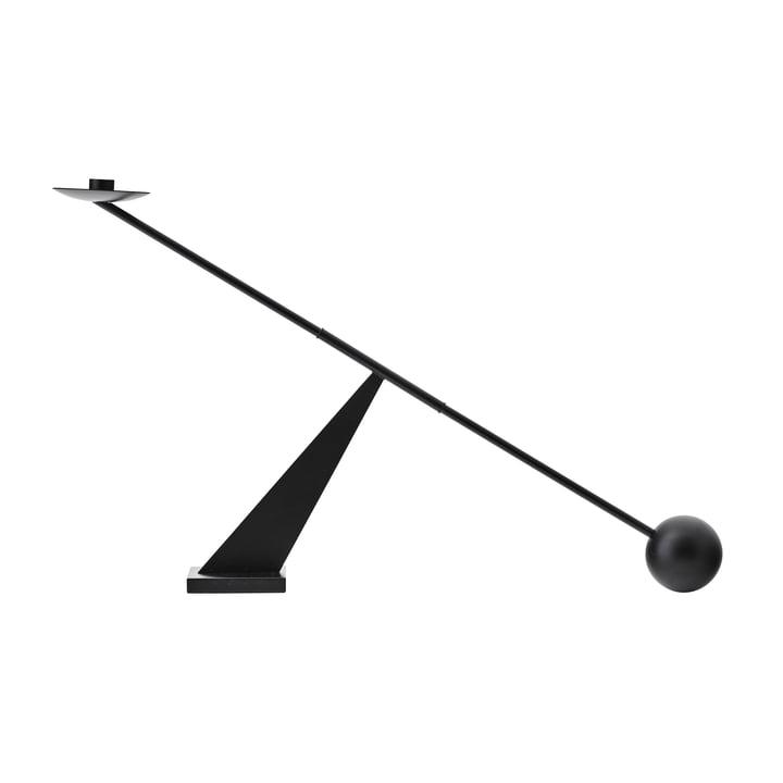 Interconnect Kerzenständer, H 41,5 x L 70 cm, schwarz von MENU