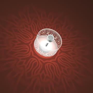 """Shadow Lamp - """"Bombay"""" von Absolut Lightening"""