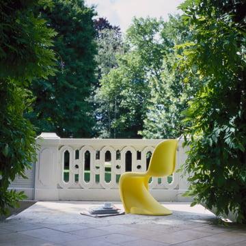 Gelber Panton Chair von Vitra