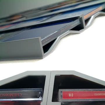 Sigmarail Aluminium CD Regalsystem (SR5)