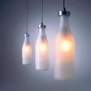 Droog - Milkbottle Lamp