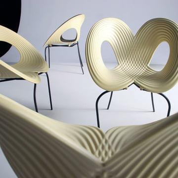 Ripple Chair von Moroso in Weiß