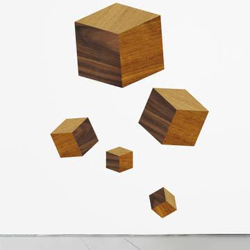 Domestic - Touche du Bois / Cubes Wandsticker