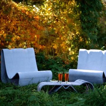 Eternit - Willy Guhl Loop Outdoor-Sessel