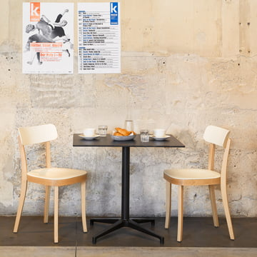 Vitra Bistro Table & Basel Chair