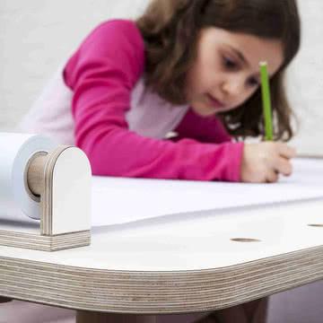 Growing Table - Zeichenrolle mit Halter