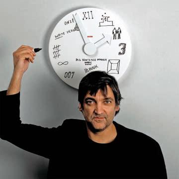 Alessi - Blank Wall Clock Wanduhr
