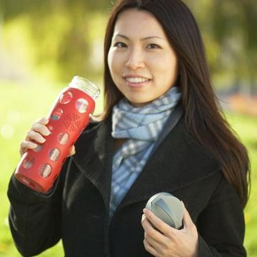Glasflasche 0.6 Liter von Lifefactory