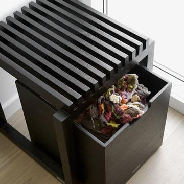 Skagerak - Cutter Box mit Hocker, Schwarz