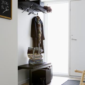 skagerak cutter garderobe in schwarz - Garderoben Ideen