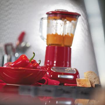 Kitchen Aid - Artisan Standmixer mit Glasbehälter