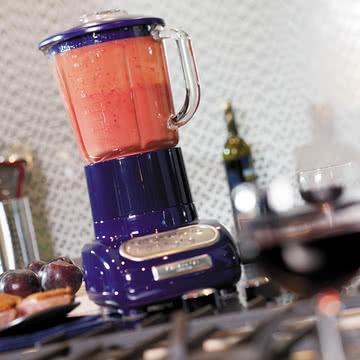 Kitchen Aid - Artisan Standmixer mit Glasbehälter, blau