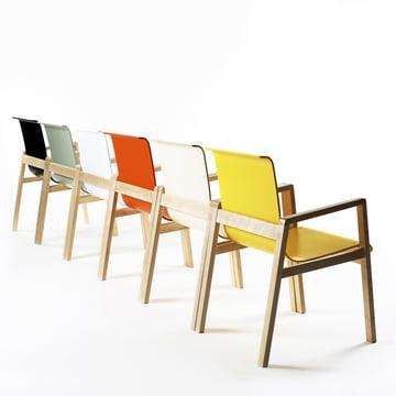 Artek - 403 Hallway Sessel, Gruppe, verschiedene Farben