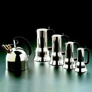 Espressomaschine 9090, Grueppenbild, verschiedene Größen
