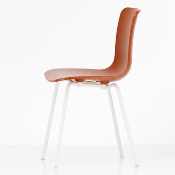 Hal Tube Stuhl von Vitra in Rot/Weiß