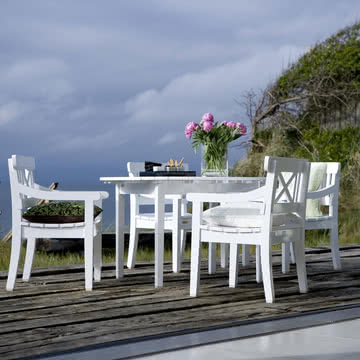 Traditionelle Möbel von der dänischen Küste