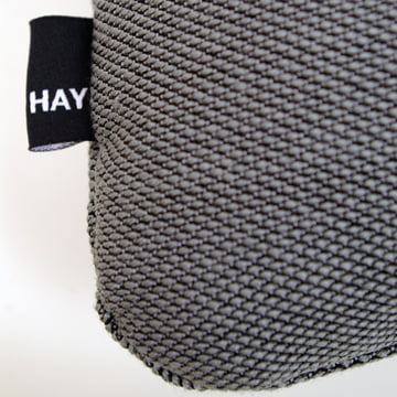 Hay - Kissen Dot 2x2 Steelcut Trio, dunkelgrau