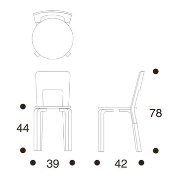 Artek 66 Stuhl