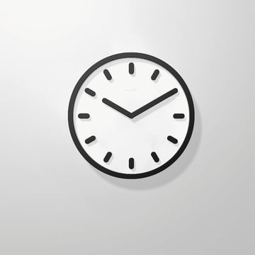 Magis - Tempo Wanduhr, schwarz