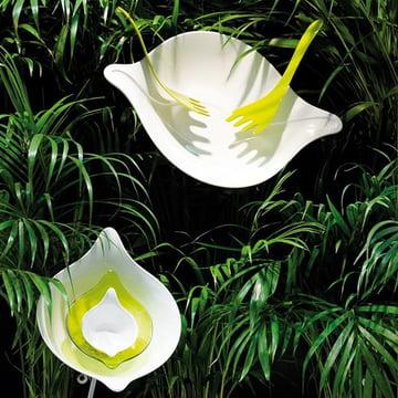 Leaf Salatschüssel von Koziol