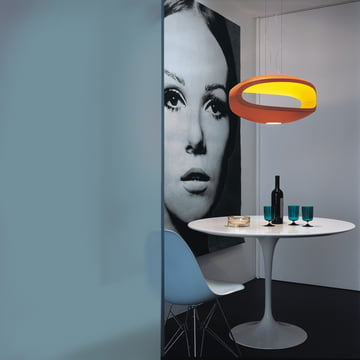 Foscarini - O-Space Pendelleuchte, orange