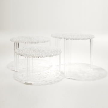 Kartell - T-Table, glasklar