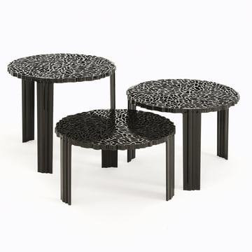 Kartell - T-Table, schwarz