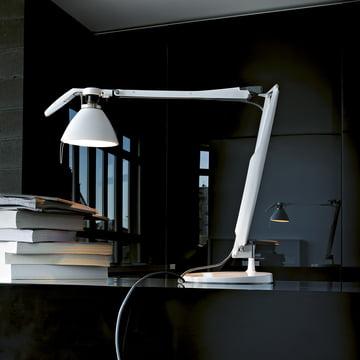 Fortebraccio-Schreibtischleuchte von Luceplan in Weiß