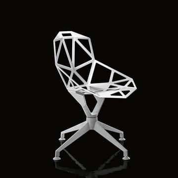 Skeletthaft und skulptural anmutender Chair One 4Star Stuhl von Magis