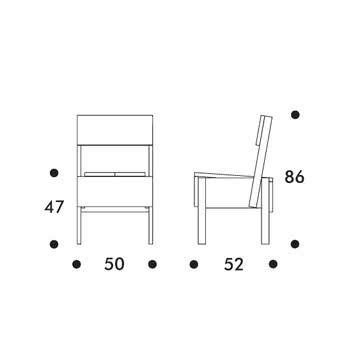 Artek - Sedia 1 Stuhl