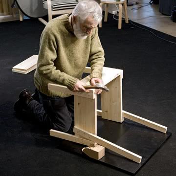 Artek - Sedia 1 Stuhl und Enzo Mari