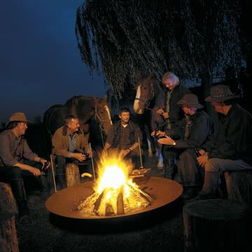 Extremis - Qrater Grill- und Feuerstelle