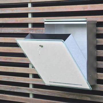 Radius Design - Briefkasten Letterman III, weiß - offen III