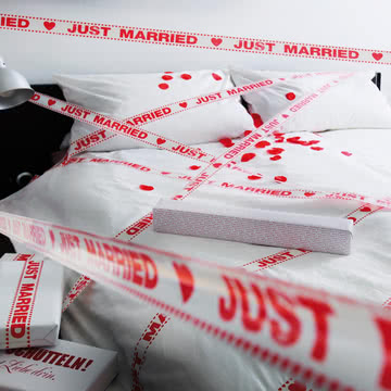 donkey products - Tape Gallery Klebeband, Just Married