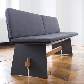 Conmoto - Sitzkissen für Tension Bank, anthrazit