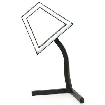 2D LED Tischleuchte von Skitsch in Weiß