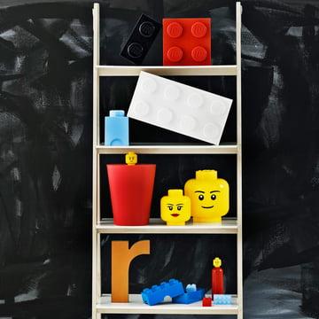 Storage Brick und Storage Head von Lego