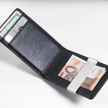 Troika - Midnight Kreditkartenetui, schwarz
