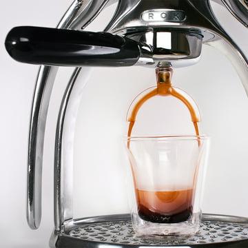 ROK - Espressomaschine mit Splitter
