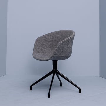Hay - About A Chair AAC 21, Aluminium schwarz / Hallingdal