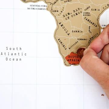 Erst in Gold, dann in Rot: Südafrika!