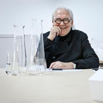 Auerberg - Glasserie mit Herbert Schultes