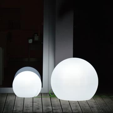 Jan Kurtz - Happy Apple Lampe, weiß