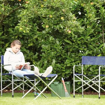 Fiam - Regie Aluminium Sessel, schwarz