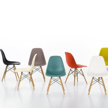 Vitra - Eames Plastic Side Chair DSW, verschiedene - Gruppenbild